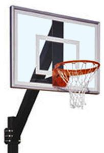 Legend Jr. III Fix Height Basketball Goals System