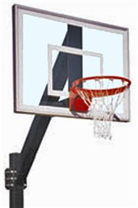 Legend Jr. Ultra Fixed Height Basketball System