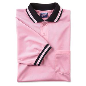 Dalco Pink Umpire Mini-Mesh Shirts