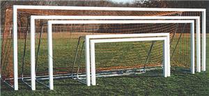Square Aluminum Soccer Goals 8x24x3x8 (1-Goal)