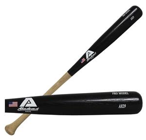 Akadema A829 Pro Black Northern White Ash Wood Bat