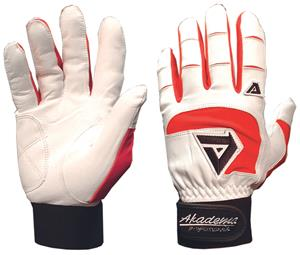 Akadema BTG475 Red Professional Batting Gloves