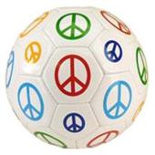 Red Lion - Multi-Color Peace Sign Soccer Balls