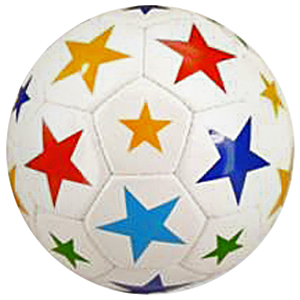 Red Lion - Multi-Color Stars Soccer Balls