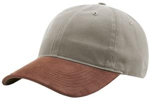 "Richardson 236 ""Brushed Chino"" Nubuck Leather Cap"