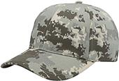 Richardson 845 Poly Twill Flexfit Camo Caps