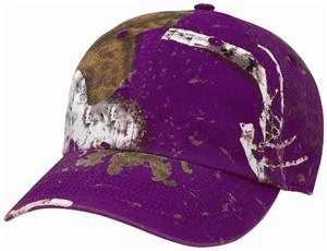 Richardson 850 Garment Washed Mothwing Camo Cap