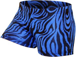 Gem Gear Royal Compression Zebra Prints Shorts
