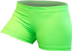 Gem Gear Compression Green Neon Shorts