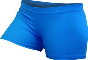 Gem Gear Compression Turquoise Neon Shorts