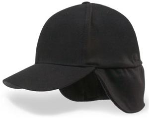 Richardson P44 &quot;Pulse&quot; Umpire Flexfit Ear Flap Cap