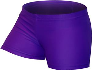 Gem Gear Compression Purple Neon Shorts