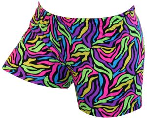 Gem Gear Compression Electro Brite Prints Shorts