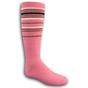 Wigwam Youth Pink Snow Swirl Knee Length Socks
