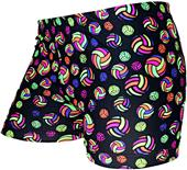 Gem Gear Compression Multicolor Volleyballs Shorts