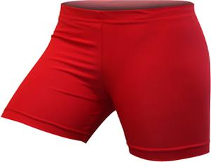 Gem Gear Compression Red Shorts 3 Inseam Sizes