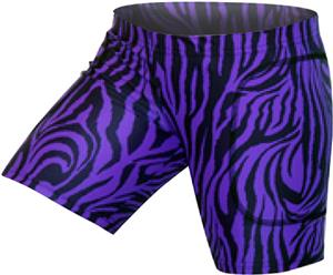 Gem Gear Purple Zebra Softball Slider 5&quot; Inseam