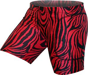 Gem Gear Red Zebra Softball Slider 5&quot; Inseam