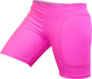 "Gem Gear Pink Neon Softball Slider 5"" Inseam"