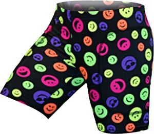 Gem Gear Happy Face Softball Slider 5&quot; Inseam