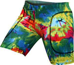 "Gem Gear Tie Dye Blast Softball Slider 5"" Inseam"