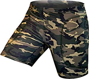 Gem Gear Camouflage Softball Slider 5&quot; Inseam
