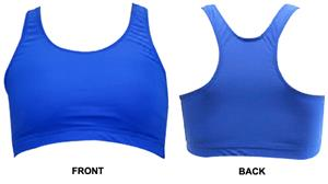 Gem Gear Royal Racer Back Sports Bra