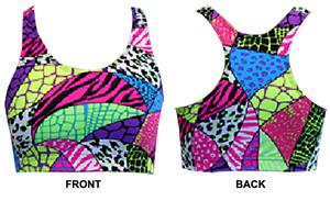 Gem Gear Jungle Safari Racer Back Sports Bra