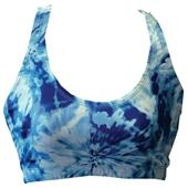 Fit 2 Win Annabelle Blue Swirl Sports Bra
