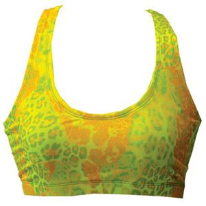 Fit 2 Win Annabelle Neon Leopard Sports Bra