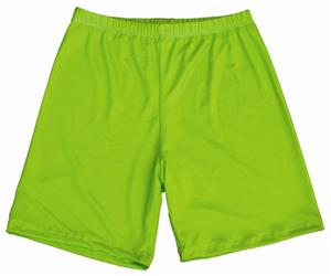 Miami Crazy Neon Green Compression Shorts