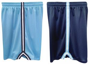 Fit 2 Win Youth Defender Mesh 7&quot; Shorts