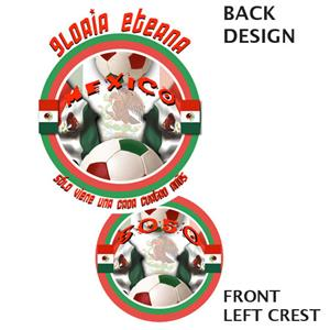 50/50 Soccer Mexico soccer tshirts