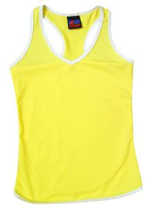 Fit2Win Villanova Dryflex Yellow Racerback Jersey