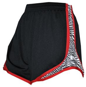 Fit 2 Win Women's Sprinter Black/Zebra Shorts