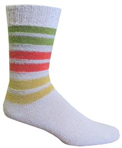 Closeout Striped Fashion Socks PAIR
