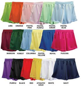 Fit 2 Win Womens Rockville Mesh Shorts 18 Colors