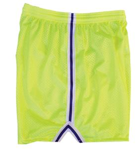 Fit 2 Win Womens Severn Neon Yellow Mesh Shorts