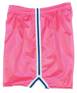 Fit 2 Win Womens Severn Neon Pink Mesh Shorts
