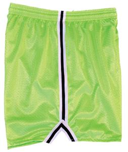 Fit 2 Win Womens Severn Neon Green Mesh Shorts