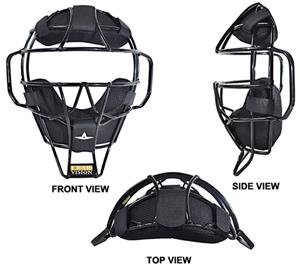 ALL-STAR FM2000UMP Baseball Umpire&#39;s Face Masks