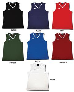 Fit 2 Win Womens Harvard Dryflex Sleeveless Jersey