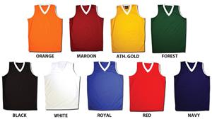 Fit2Win Womens Maryland Sleeveless Jersey 9 Colors