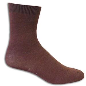 Closeout Brown Fashion/Trouser Socks PAIR