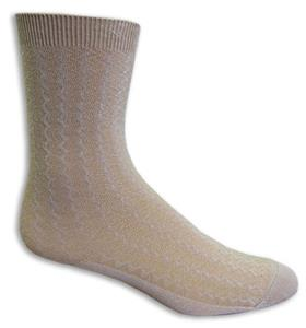 Zig-Zag Fashion/Trouser Socks PAIR -Closeout