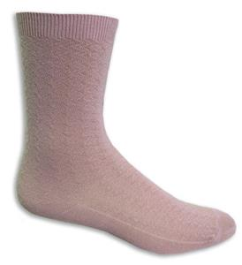 Closeout Dusty Pink Fashion/Trouser Socks PAIR