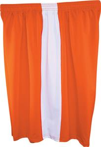 Fit 2 Win Mens Captain 8&quot; Orange Shorts