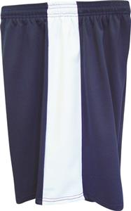 Fit 2 Win Mens Captain 8&quot; Navy/White Shorts