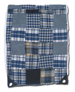 "Fit 2 Win Madras Drawstring 13""x17"" Backpack - MO"