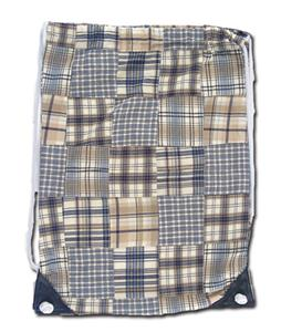 Fit 2 Win Madras Drawstring 13&quot;x17&quot; Backpack - MK